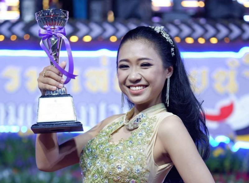 นิสิตคณะศิลปกรรมศาสตร์ มหาวิทยาลัยทักษิณ ได้รับรางวัลรองชนะเลิศอันดับ 2 ในรายการประกวดร้องเพลงไทยลูกทุ่ง (Pakphanang Contest)