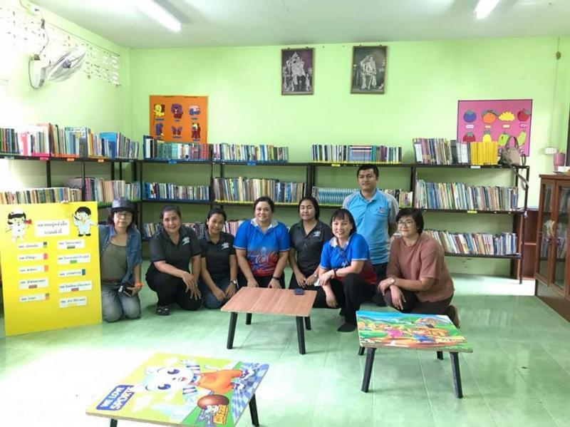 มหาวิทยาลัยทักษิณ สนับสนุนและพัฒนาการจัดระบบห้องสมุดโรงเรียนในพระราชดำริ