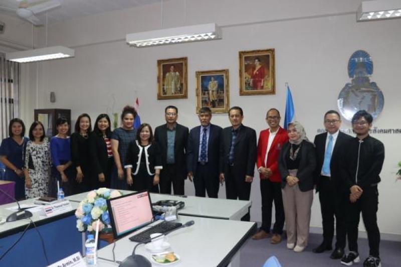 คณะมนุษยศาสตร์และสังคมศาสตร์ มหาวิทยาลัยทักษิณ ต้อนรับและเจรจาความร่วมมือทางวิชาการกับ Universitas  Hasanuddin ประเทศอินโดนีเซีย