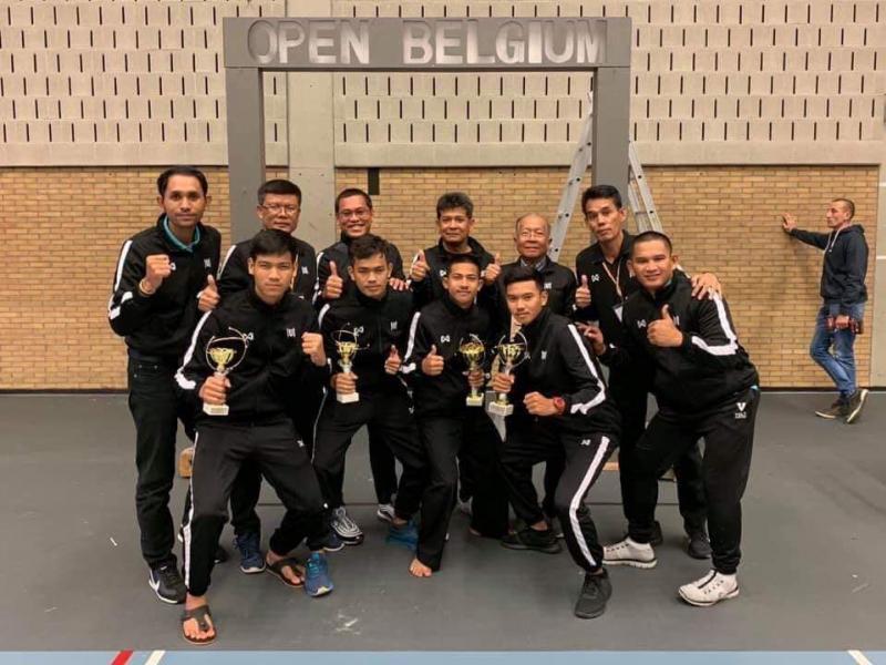 นักกีฬาปันจักสีลัตมหาวิทยาลัยทักษิณ ได้รับรางวัลจากการแข่งขันรายการ International Pencaksilat Belgium Open Championship 2019