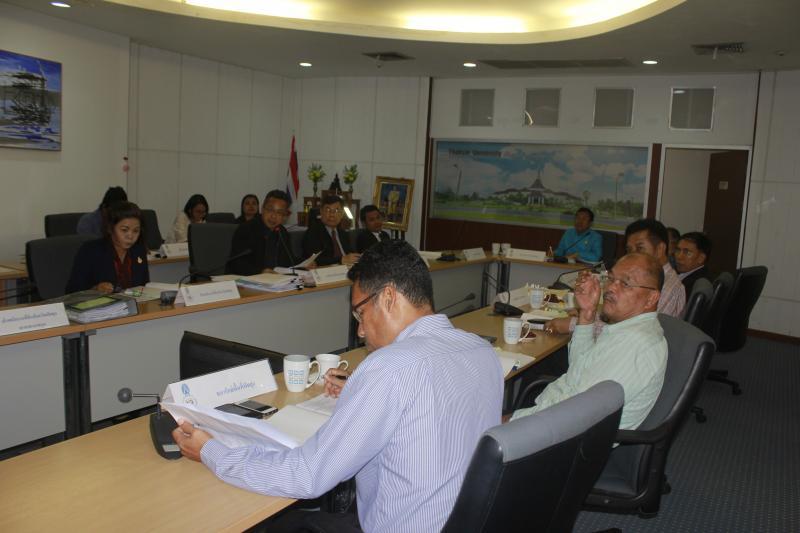 การประชุมคณะกรรมการแก้ไขปัญหาพื้นที่มหาวิทยาลัยทักษิณ วิทยาเขตพัทลุง ครั้งที่ 4/2560