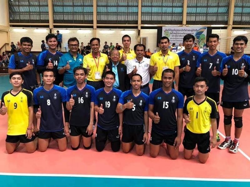 นิสิตมหาวิทยาลัยทักษิณ ผ่านการคัดเลือกในการแข่งขันกีฬามหาวิทยาลัยแห่งประเทศไทย ครั้งที่ 46 รอบคัดเลือก เขตการแข่งขัน ภาคใต้