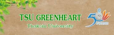 TSU GREENHEART Thaksin Green University
